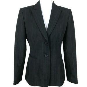 Antonio Melani Womens Pinstripe Blazer Size 6